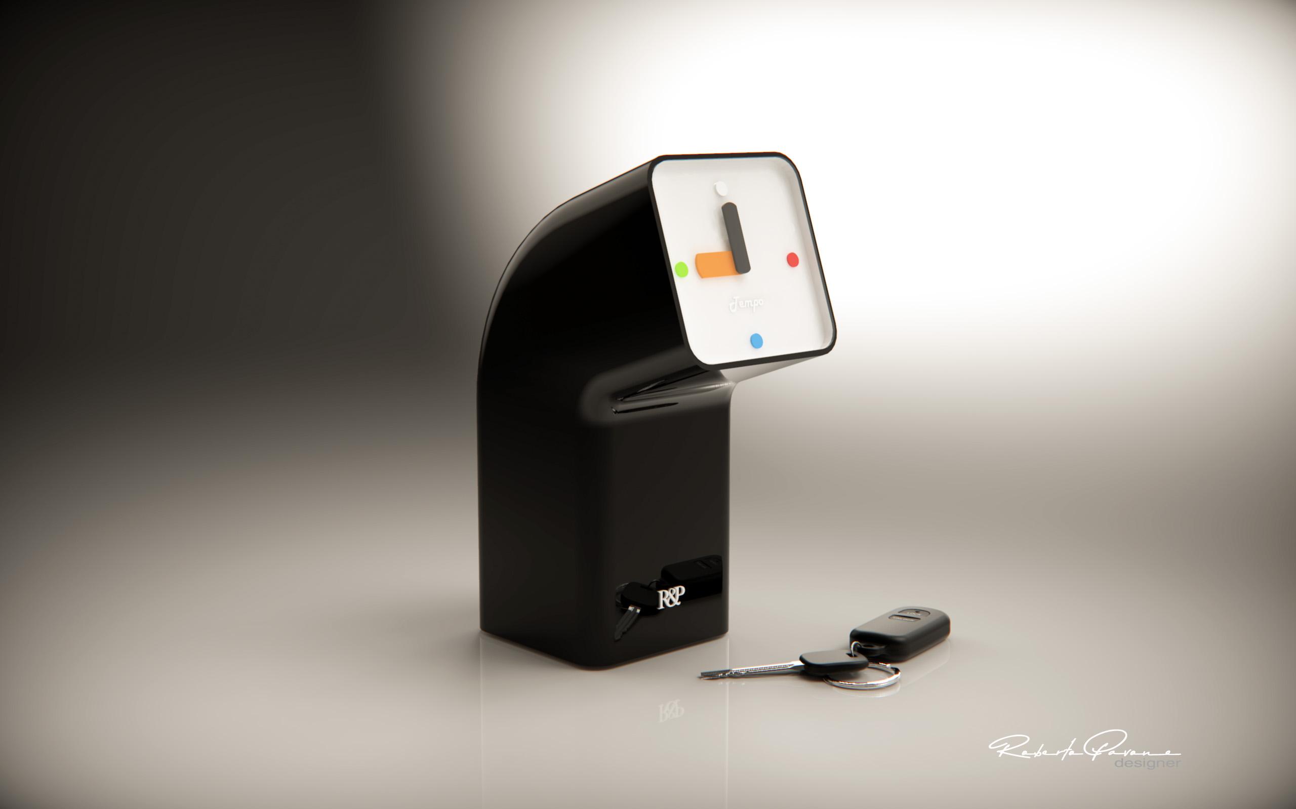 Orologio da tavolo Tempo. design roberto pavone